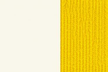 Weiß/Gelb