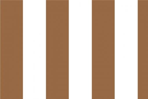 Blockstreifen 6cm Braun