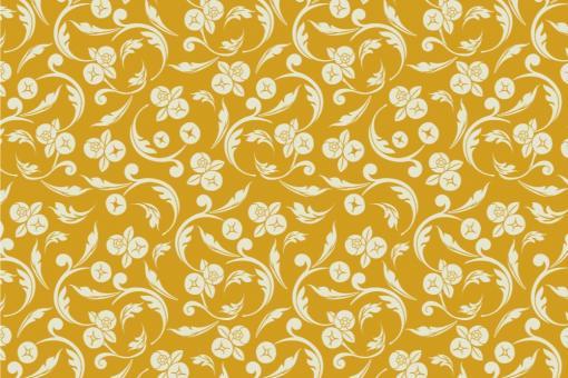 Barock Annabelle - Türvorhang-Stoff Gold