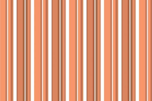Wärmevorhang-Stoff - Multistreifen Orange
