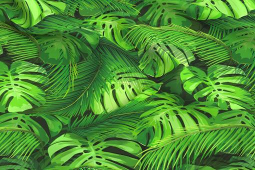 Planengewebe leicht - Dschungel