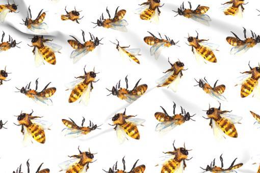 Planengewebe leicht- Bienenschwarm