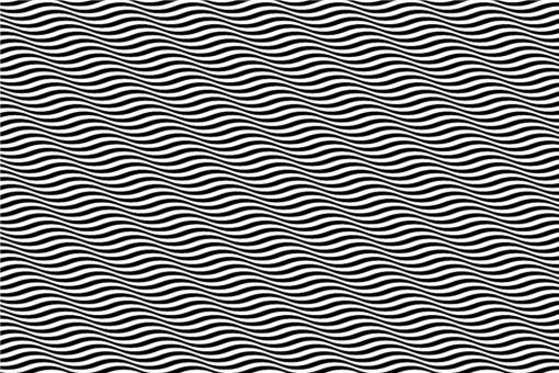 Akustikgewebe perm. schwer entfl. - Wellen in 3DAkustikgewebe perm. schwer entfl. - Wellen in 3D Schwarz