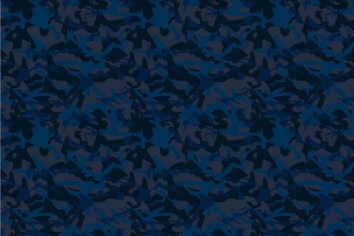 Sibirischer Nacht-Tarn - Türvorhang-Stoff Deep Blue