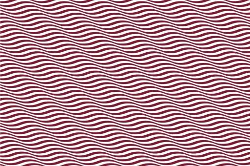 Wellen in 3D - Türvorhang-Stoff Bordeaux