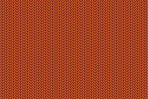 Gewirke - Türvorhang-Stoff Orange