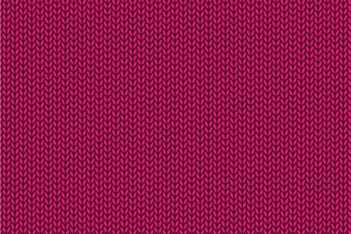Gewirke - Türvorhang-Stoff Pink