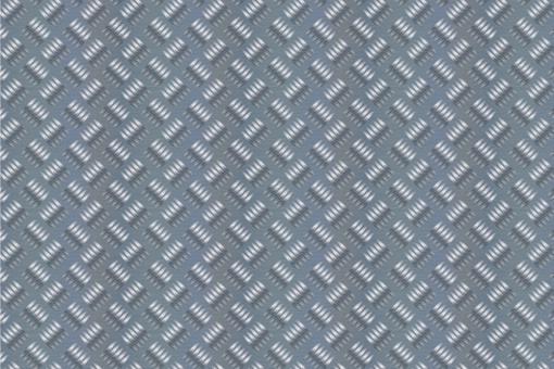 Metall-Blech - Türvorhangstoff Hellgrau