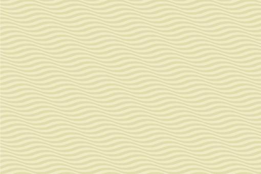 Wellen in 3D - Türvorhang-Stoff Creme/Champagner