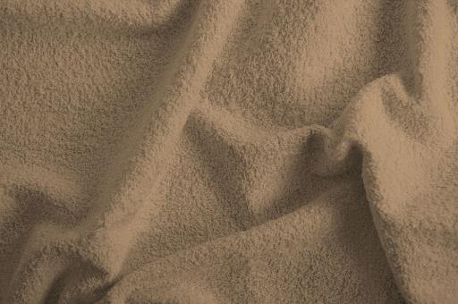 Frottee 2-seitig - 140 cm Taupe