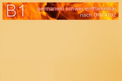PVC-Markisenstoff exklusiv - B1 permanent schwer entflammbar - Uni Beige