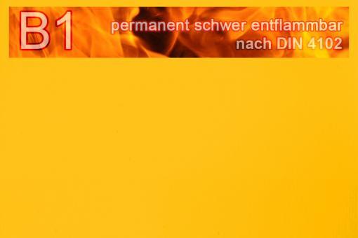 PVC-Markisenstoff exklusiv - B1 permanent schwer entflammbar - Uni Goldgelb