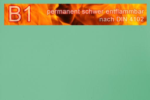 PVC-Markisenstoff exklusiv - B1 permanent schwer entflammbar - Uni Hellgrün