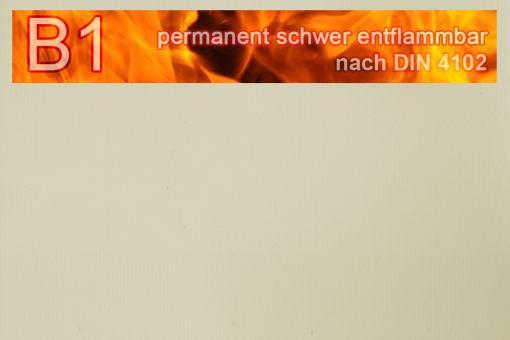 PVC-Markisenstoff exklusiv - B1 permanent schwer entflammbar - Uni Kiesel