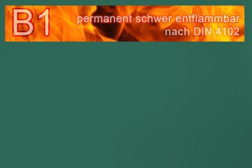 PVC-Markisenstoff exklusiv - B1 permanent schwer entflammbar - Uni Grün