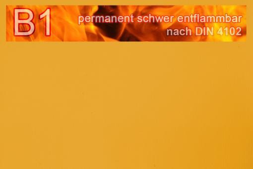 PVC-Markisenstoff exklusiv - B1 permanent schwer entflammbar - Uni Ocker