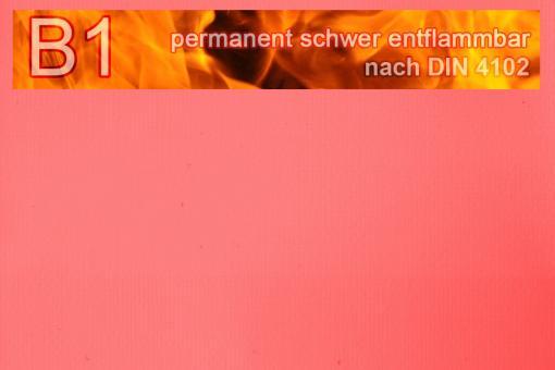 PVC-Markisenstoff exklusiv - B1 permanent schwer entflammbar - Uni Dunkelrosa