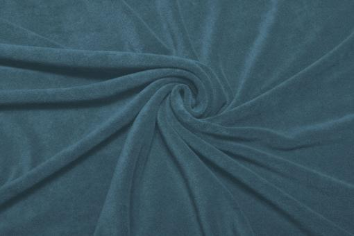 Frottee Stretch Taubenblau