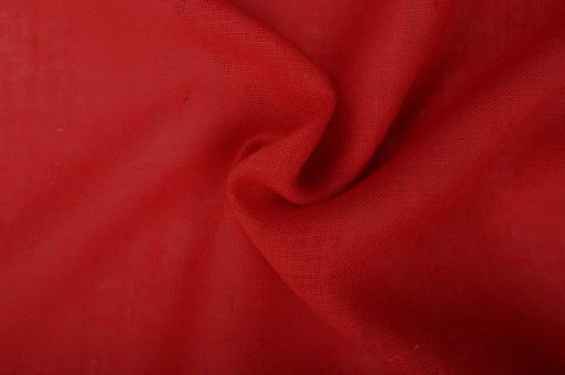 Sackleinen Jute farbig - 130 cm Rot
