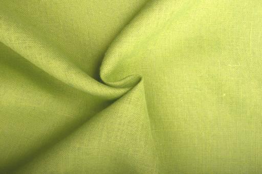 Sackleinen Jute farbig - 130 cm Hellgrün