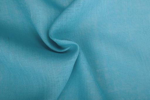 Sackleinen Jute farbig - 130 cm Ocean