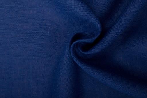 Sackleinen Jute farbig - 120 cm Nachtblau