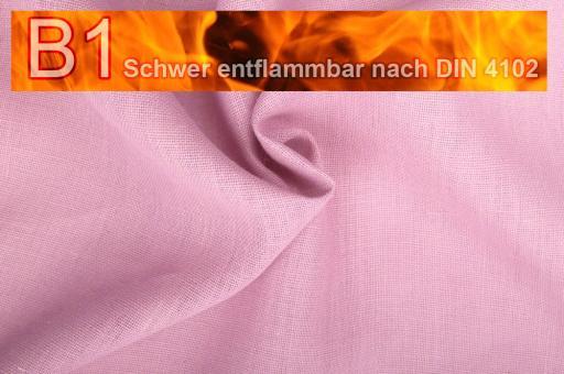 Sackleinen Jute B1 farbig 130 cm Rosa