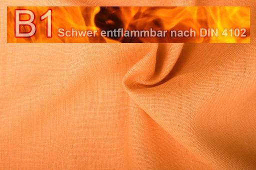 Sackleinen Jute B1 farbig 130 cm Apricot