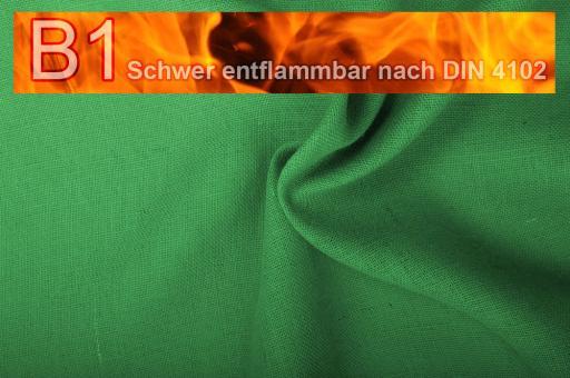 Sackleinen Jute B1 farbig 130 cm Resedagrün