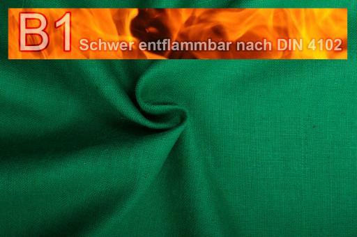 Sackleinen Jute B1 farbig 130 cm Grün