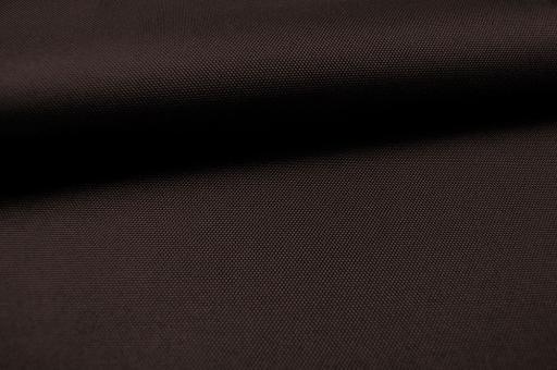 Polyester-Stoff - reißfest und wasserdicht - Uni Dunkelbraun