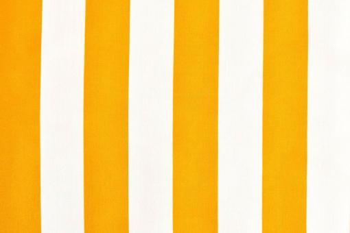 Polyester-Stoff - reißfest und wasserdicht - Blockstreifen Gelb/Weiß