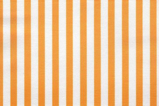 Sonnenschutz-Panamagewebe - gestreift - 280 cm Sonnengelb/Weiß