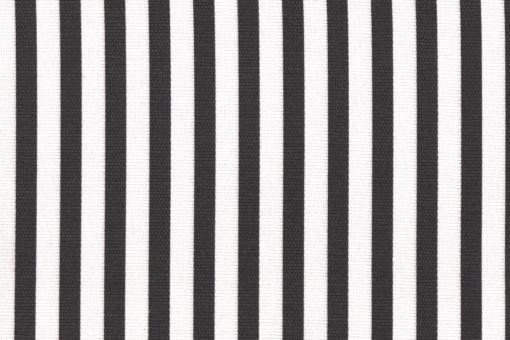 Sonnenschutz-Panamagewebe - gestreift - 280 cm Grau/Weiß