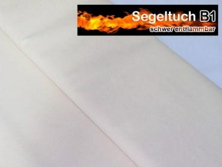 Segeltuch B1 160 cm - Weiß