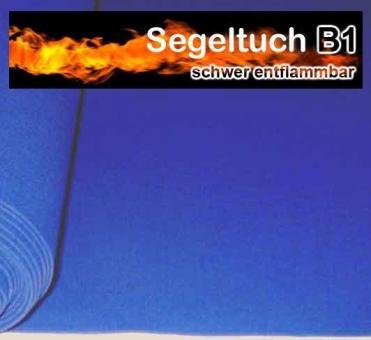 Segeltuch B1 310 cm - Blue box