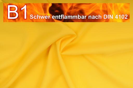 Allround Stoff - schwer entflammbar Gelb
