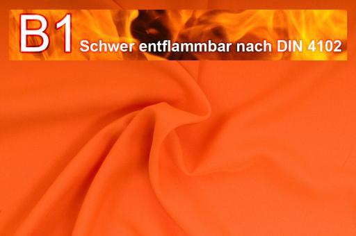 Allround Stoff - schwer entflammbar Orange