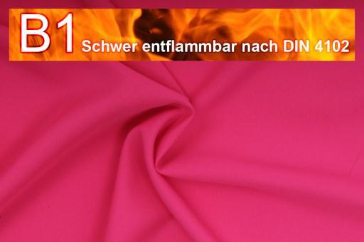 Allround Stoff - schwer entflammbar Pink