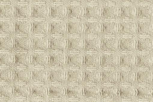Baumwoll Waffel-Piqué - Uni Beige