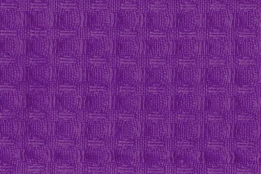 Baumwoll Waffel-Piqué - Uni Lila