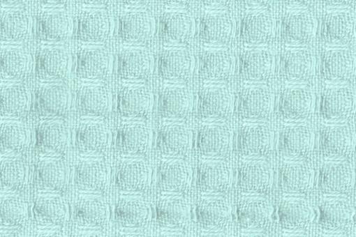 Baumwoll Waffel-Piqué - Uni Mint