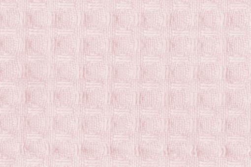 Baumwoll Waffel-Piqué - Uni Rosé