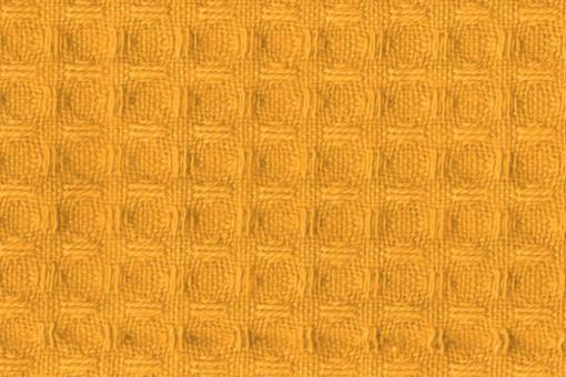 Baumwoll Waffel-Piqué - Uni Gelb