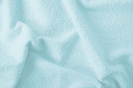 Frottee 2-seitig - 140 cm Eisblau