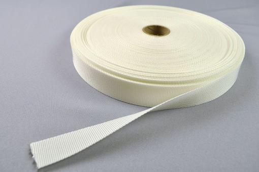 Gurtband - 25 mm - Leinwandbindung