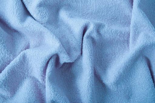Frottee 2-seitig - 140 cm Hellblau