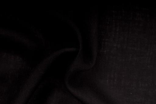 Sackleinen Jute farbig - 130 cm Schwarz
