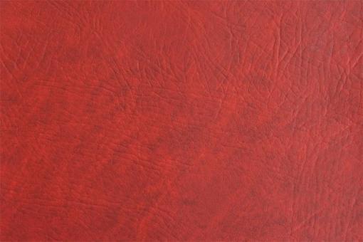 Leder Imitat - Büffel Rot-Marmor
