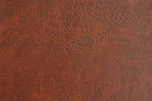 Leder Imitat - Büffel Schokobraun-Marmor